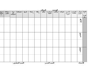 (2) نموذج التوزيع المجالي 5+6.doc