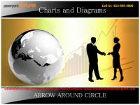 Download Arrow Around Circle Powerpoint Template.pptx