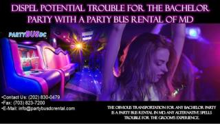 Dispel Potential Trouble for the Bachelor Party with a Party Bus Rental of MD.pptx