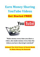Earn Money Sharing Your TubeVideos.pdf