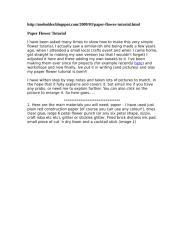 Paper Flower Tutorial 1.doc