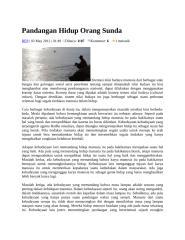 Pandangan Hidup Orang Sunda.docx