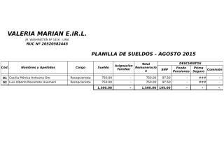 Valeria Marian EIRL - Período 2015.xlsx