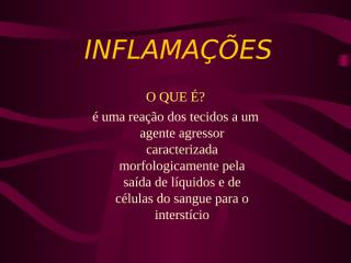 inflamacoes.ppt