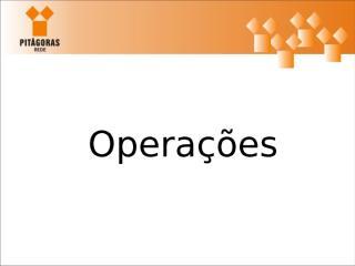 Operações.ppt