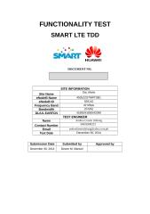 SMART LTE TDD Functionality Test_4505_STA_MARIA.docx