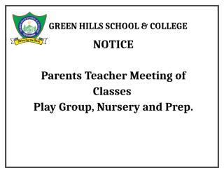 Parents teacher meeting.docx