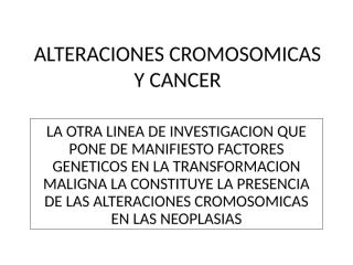 Dra Cobo - ALT CROM Y CA.ppt
