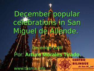 081216 popular celebrations of decembre.ppt