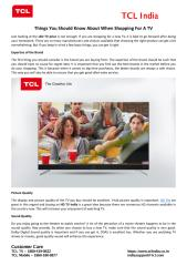 Things You Should Know About When Shopping For A TV.pdf