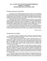 Robert Johnson - WE - A Chave da Psicologia do Amor Romântico.pdf