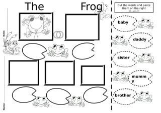 The frog family worksheet.doc
