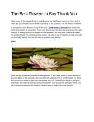 The Best Flowers to Say Thank You.pdf
