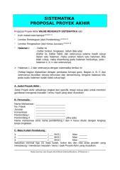 Format Penulisan Proyek Akhir(D-3).doc